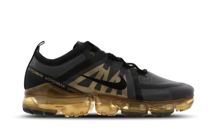 Nike Air VaporMax 2019 Black Gold AR6631-002 02