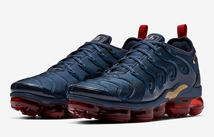 5c7425ed95c Nike Air VaporMax Plus Navy Gold 924453-405 – Fastsole