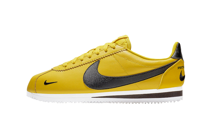 detailed look 58683 5fa44 Nike Cortez Yellow Black 807480-700