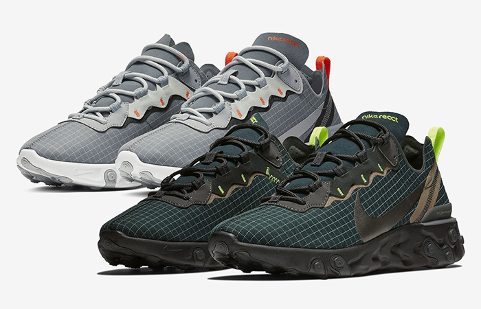 Nike React Element 55 Grid Pack in Deatils ft