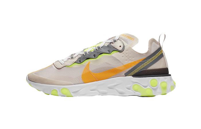 Nike React Element 87 Orewood Volt AQ1090-101 01