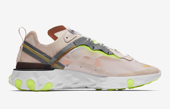 Nike React Element 87 Orewood Volt AQ1090-101 02