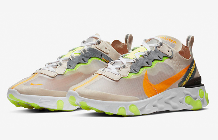 Nike React Element 87 Orewood and Aurora Official Look ft