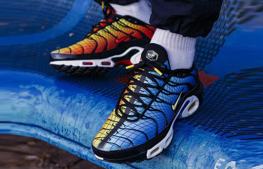 size 40 0dbe9 5c89f Nike TN Air Max Plus Greedy Orange Blue AV7021-001