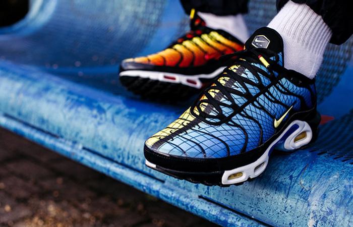 size 40 e8dc9 26785 Nike TN Air Max Plus Greedy Orange Blue AV7021-001