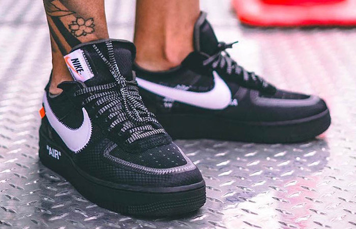 0a0d046784e Off-White Nike Air Force 1 Low Black AO4606-001 – Fastsole