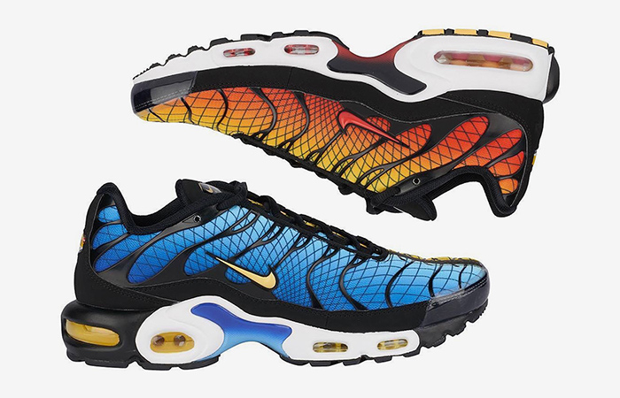 Time To Go Greedy With The Nike TN Air Max Plus Greedy Orange Blue ft