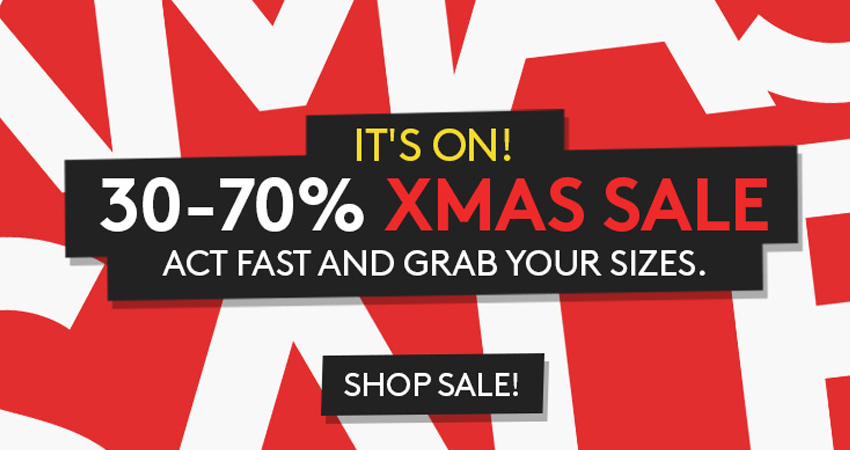 Top Deals from Caliroots X-MAS Sale 01
