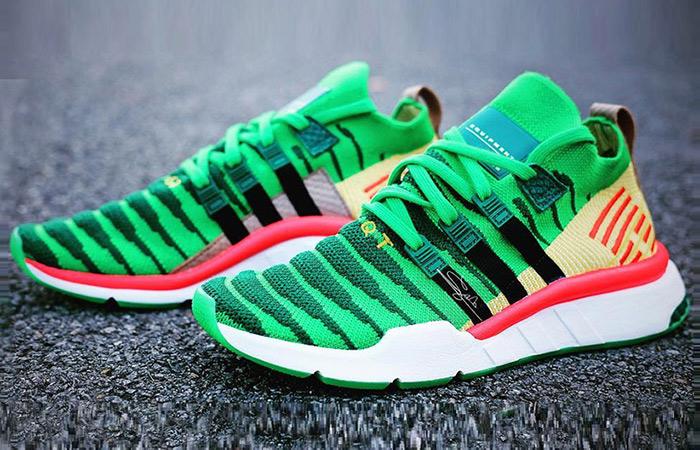 adidas Dragon Ball Z Shenron EQT Green in Detail ft