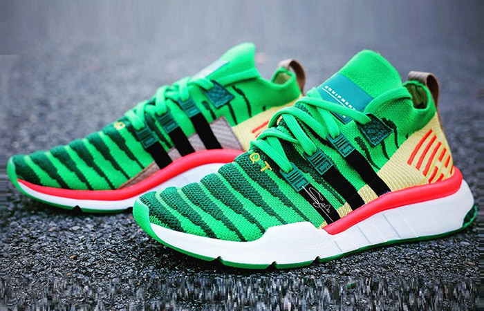adidas Dragon Ball Z Shenron EQT Green in Detail ft
