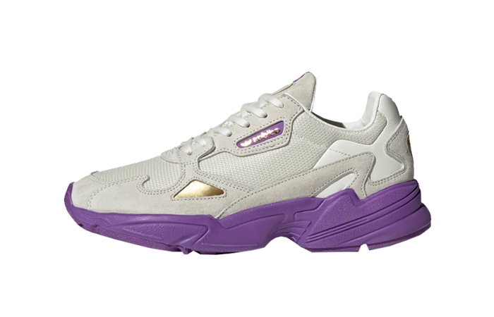 adidas Falcon TFL Off White Purple