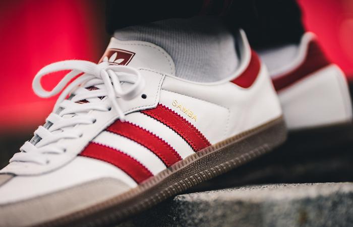 simbólico Suavemente la seguridad  adidas samba og red white Shop Clothing & Shoes Online
