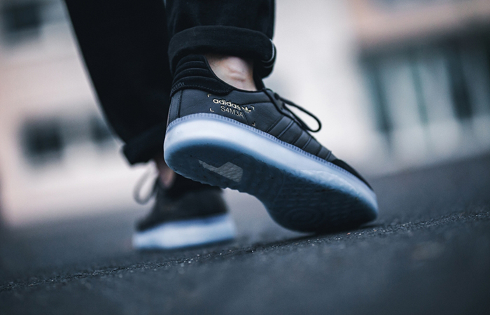 adidas Samba RM Black BD7476