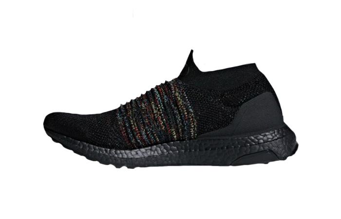 adidas Ultraboost Laceless Black B37685 01