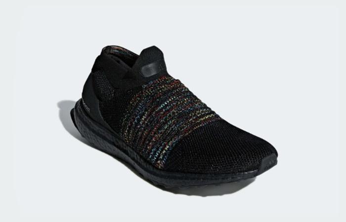 adidas Ultraboost Laceless Black B37685 03