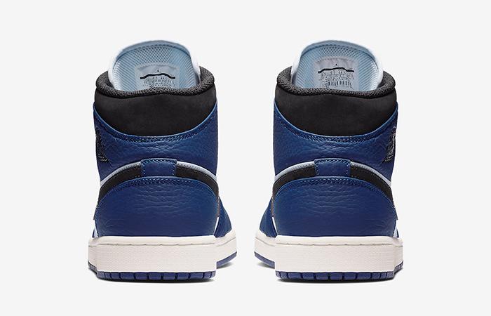 Air Jordan 1 Mid Deep Blue 852542-400