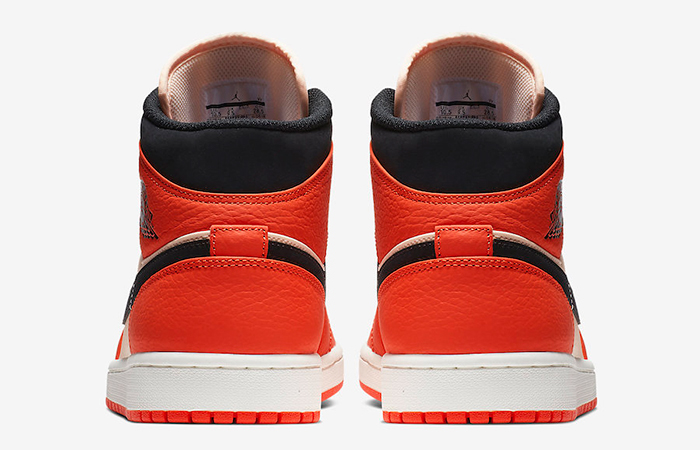 Air Jordan 1 Mid Orange 852542-800
