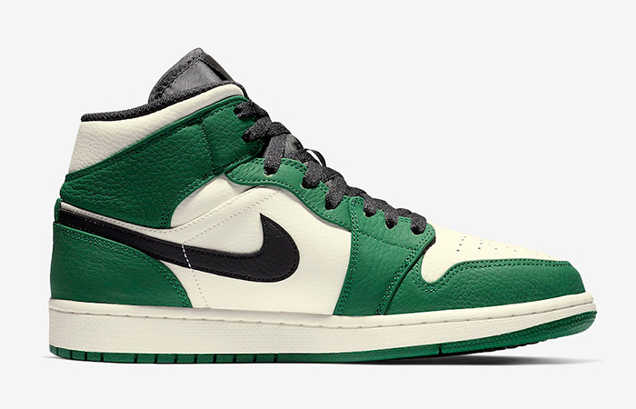 Air Jordan 1 Mid Pine Green 852542-301 02