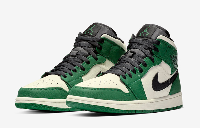 Air Jordan 1 Mid Pine Green 852542-301 03