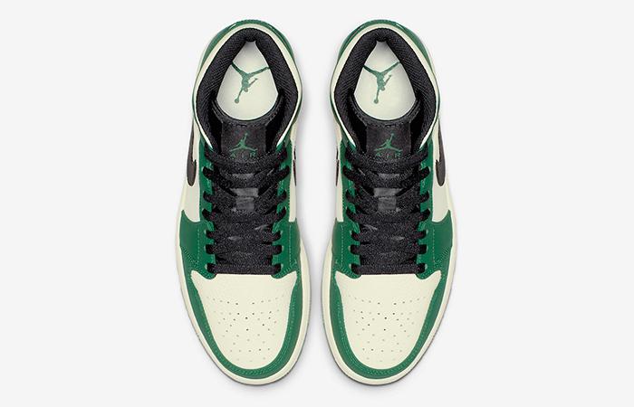 Air Jordan 1 Mid Pine Green 852542-301