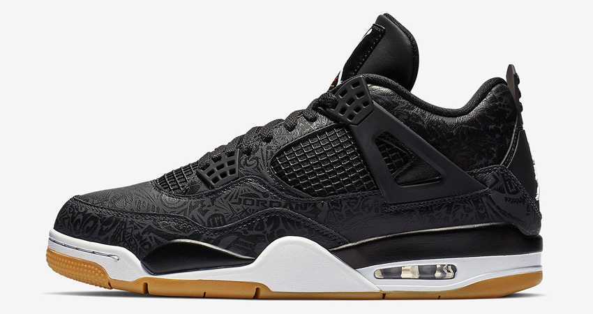 Air Jordan 4 SE Laser Black Gum Detailed Look 02