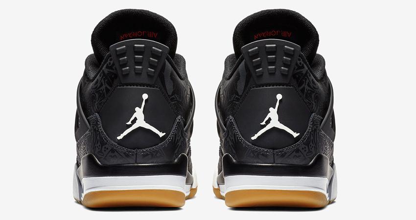 Air Jordan 4 SE Laser Black Gum Detailed Look 04