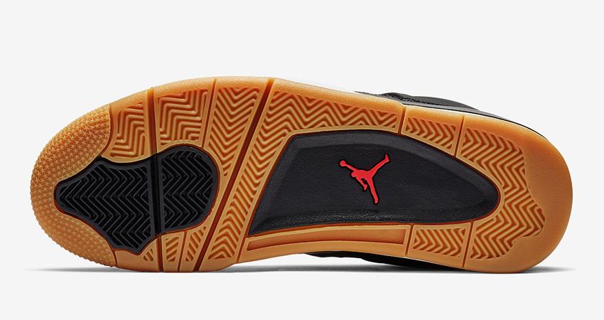 Air Jordan 4 SE Laser Black Gum Detailed Look 05