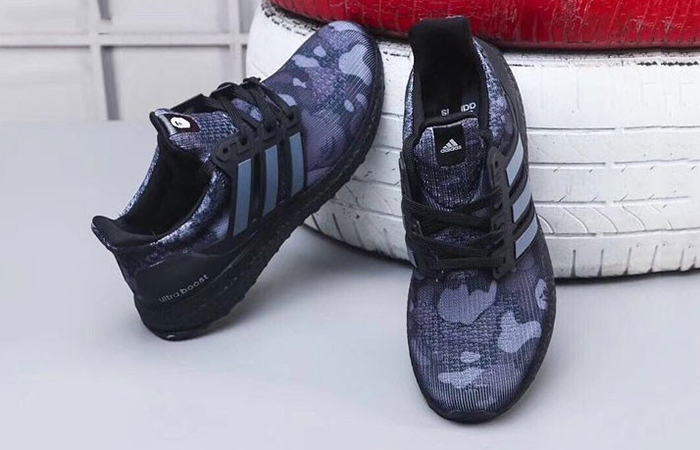 adidas bape x ultra boost black camo