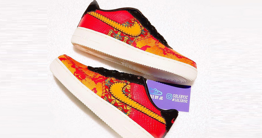 First Look at the Nike Air Force 1 Chinese New Year Red 03