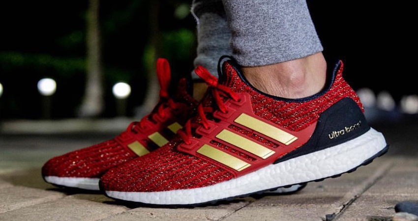6dce6a27 Game of Thrones x adidas Ultra Boost House Lannister Detailed Look ...