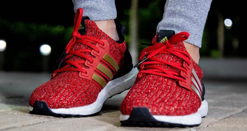 7939564fe4d24 Game of Thrones x adidas Ultra Boost House Lannister Detailed Look ...