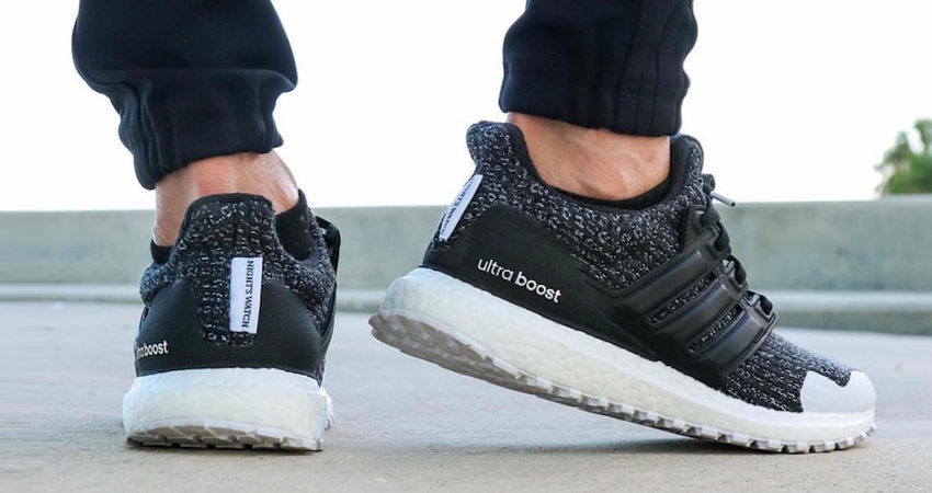 outlet store bbd75 de0cf Game of Thrones x adidas Ultra Boost Nights Watch Release ...