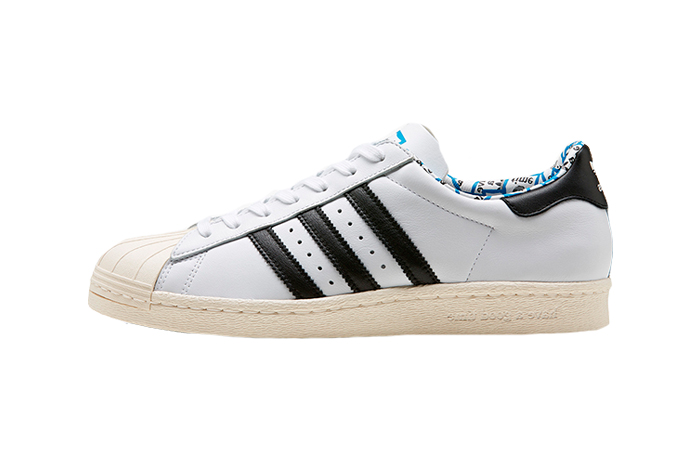 Have A Good Time adidas Superstar 80s White Black G54786 01