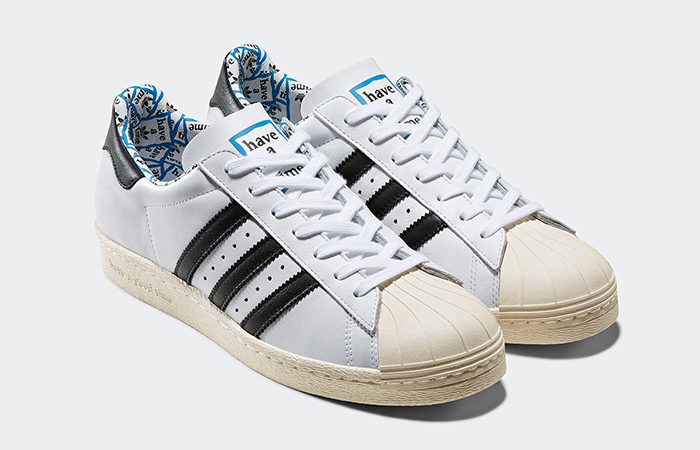 Have A Good Time adidas Superstar 80s White G54786