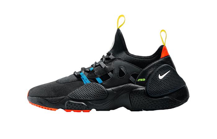 498a79e5dd4f Heron Preston Nike Huarache EDGE Black – Fastsole