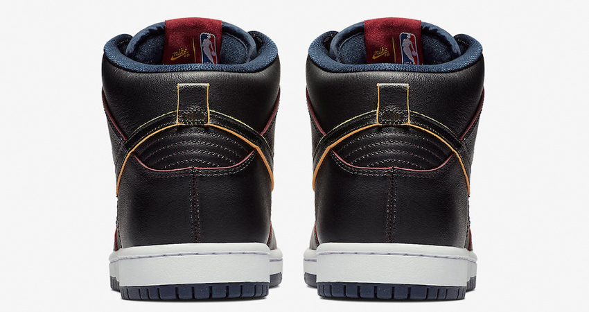 NBA x Nike SB Dunk High Cleveland Cavaliers in Details 03