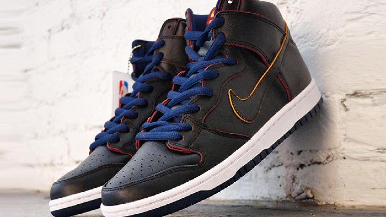 NBA x Nike SB Dunk High Pro Cleveland