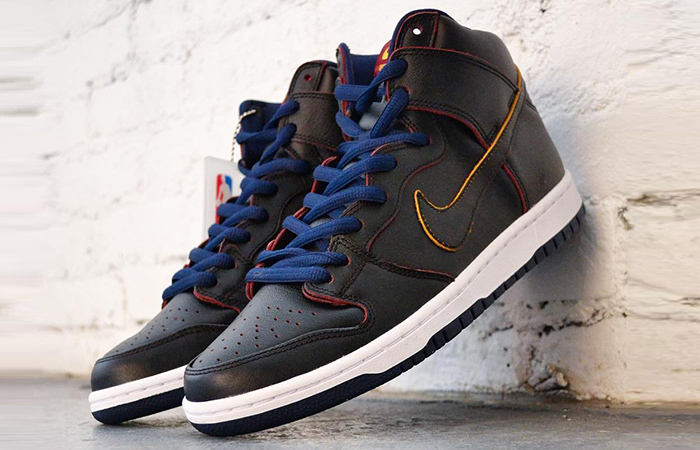 NBA x Nike SB Dunk High Pro Cleveland Cavaliers Release Date ft