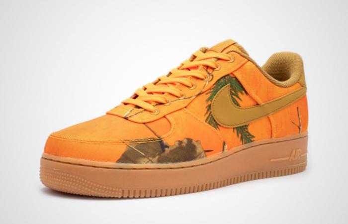 Nike Air Force 1 Camo Orange AO2441-800