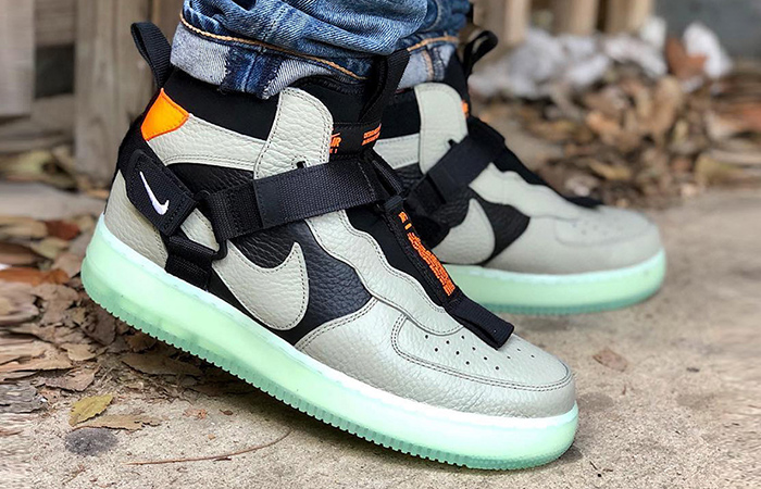 Nike Air Force 1 Mid Utility Spruce Fog First Look ft