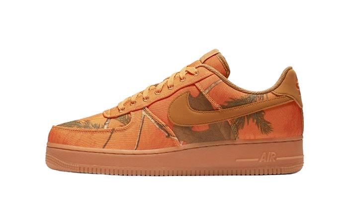 Nike Air Force 1 Realtree Camo Orange AO2441-800 01