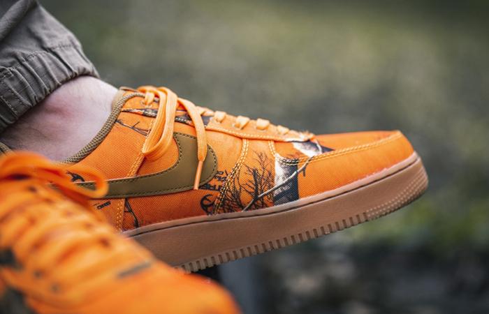 Nike Air Force 1 Realtree Camo Orange AO2441-800 02