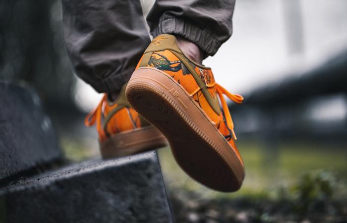 Nike Air Force 1 Realtree Camo Orange AO2441-800