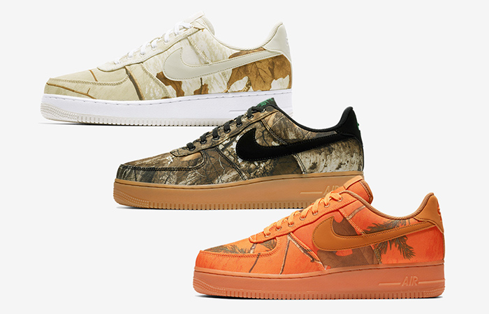 Nike Air Force 1 Realtree Camp Pack Release Date ft