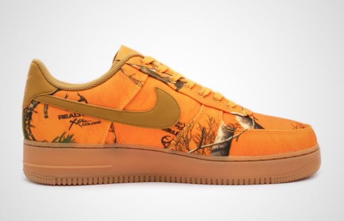 Nike Air Force 1 Realtree Orange AO2441-800