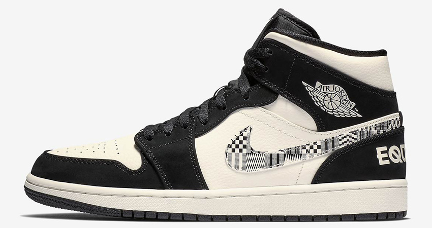 299250c0c9f0c3 Nike Air Jordan 1 Mid Equality Official Look – Fastsole