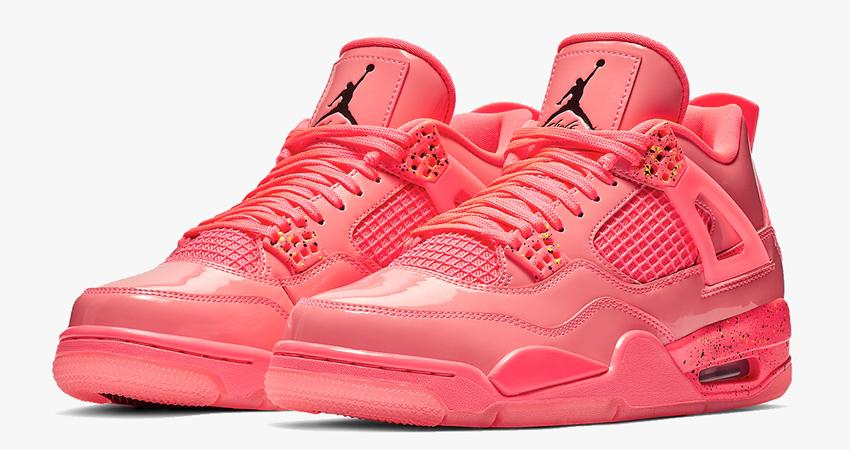Nike Air Jordan 4 Hot Punch Womens Release Date 01