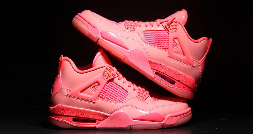 Nike Air Jordan 4 Hot Punch Womens Release Date 02