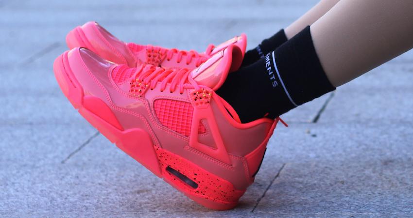 Nike Air Jordan 4 Hot Punch Womens Release Date 03