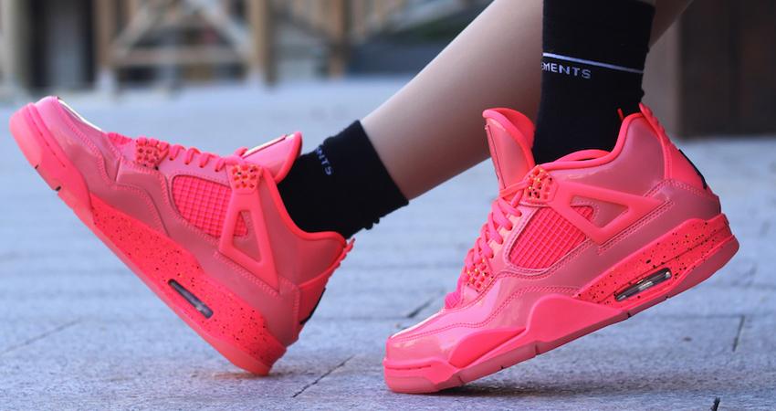 Nike Air Jordan 4 Hot Punch Womens Release Date 04
